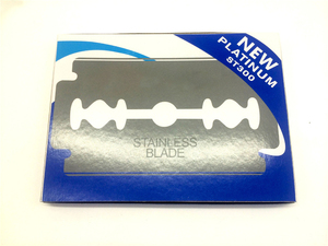 Image 3 - 면도를위한 1000pcs 안전 면도날 면도기에 스테인레스 스틸 남성 면도기 Lames De Rasoir Barber Blades