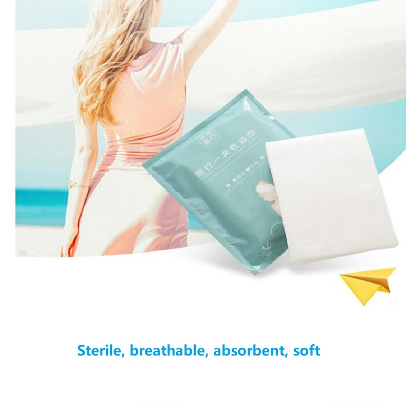 UBRUSH New Towel Compressed Disposable 30*25cm For Travel Hotel No Woven Fabric Easy To Use Out Side Easy To Carry Face Towels