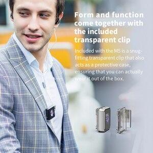 Image 5 - مشغل موسيقى MP3 عالي الدقة FiiO M5 عالي الدقة بتقنية البلوتوث عالي الدقة AK4377 USB DAC LDAC/AAC/aptX عالي الدقة 384kHz 32bit DSD128 محمول DAP