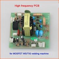Argon arc welding machine fire board WS/TIG 300/315/400 mos tube high voltage arc plate high pressure plate 8:45:80