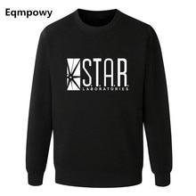 Eqmpowy флэш барри аллен звезды лаборатории лаборатории черный цвет мужские свитера мужчин новинка толстовки пуловеры 2016 мужской одежды arrow др...(China (Mainland))