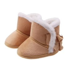 Winter Warm Baby Boots Child Boots Baby Girls Shoes Fur Snow Warm Boots Children New(China)