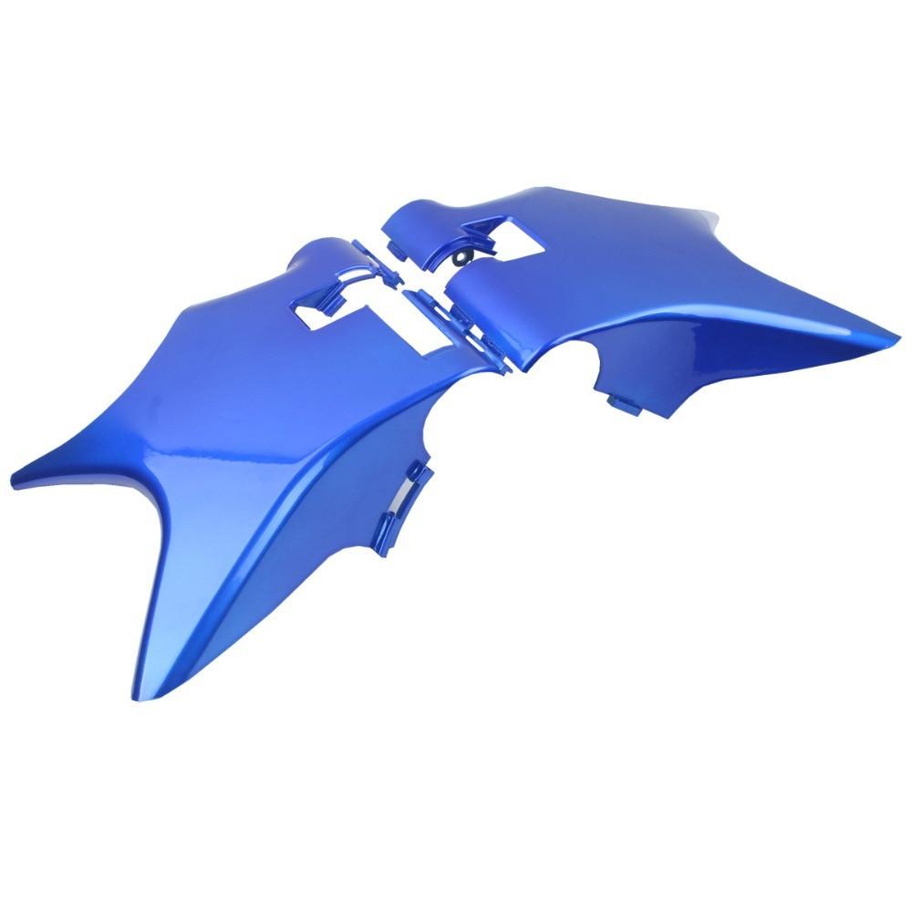 Рамка ABS пластичная Крышка шеи Клобук синий для Honda тень VT600 vlx по 600 STEED400