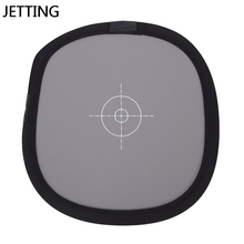 """Pu New 12 """" Inch 30cm 18% unfoldable Gray Card Reflector White Balance Double Face Focusing Board With Carry Bag"""