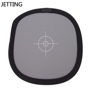 """Image 1 - Pu New 12 """" Inch 30cm 18% unfoldable Gray Card Reflector White Balance Double Face Focusing Board With Carry Bag"""