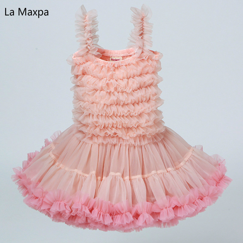 Fahison New Birthday Party Girls Dresses Angel Baby Cute Princess Dress Photo Ball Gown Dresses Children's Clothing
