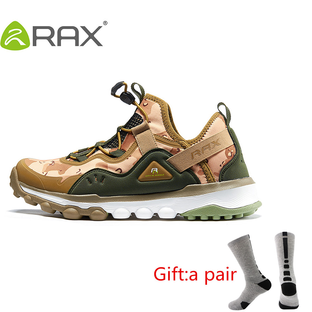 Rax Spring Summer Hiking Shoes Mens Women Outdoor Sports Sneakers Man Breathable Antiskid Trekking Shoes