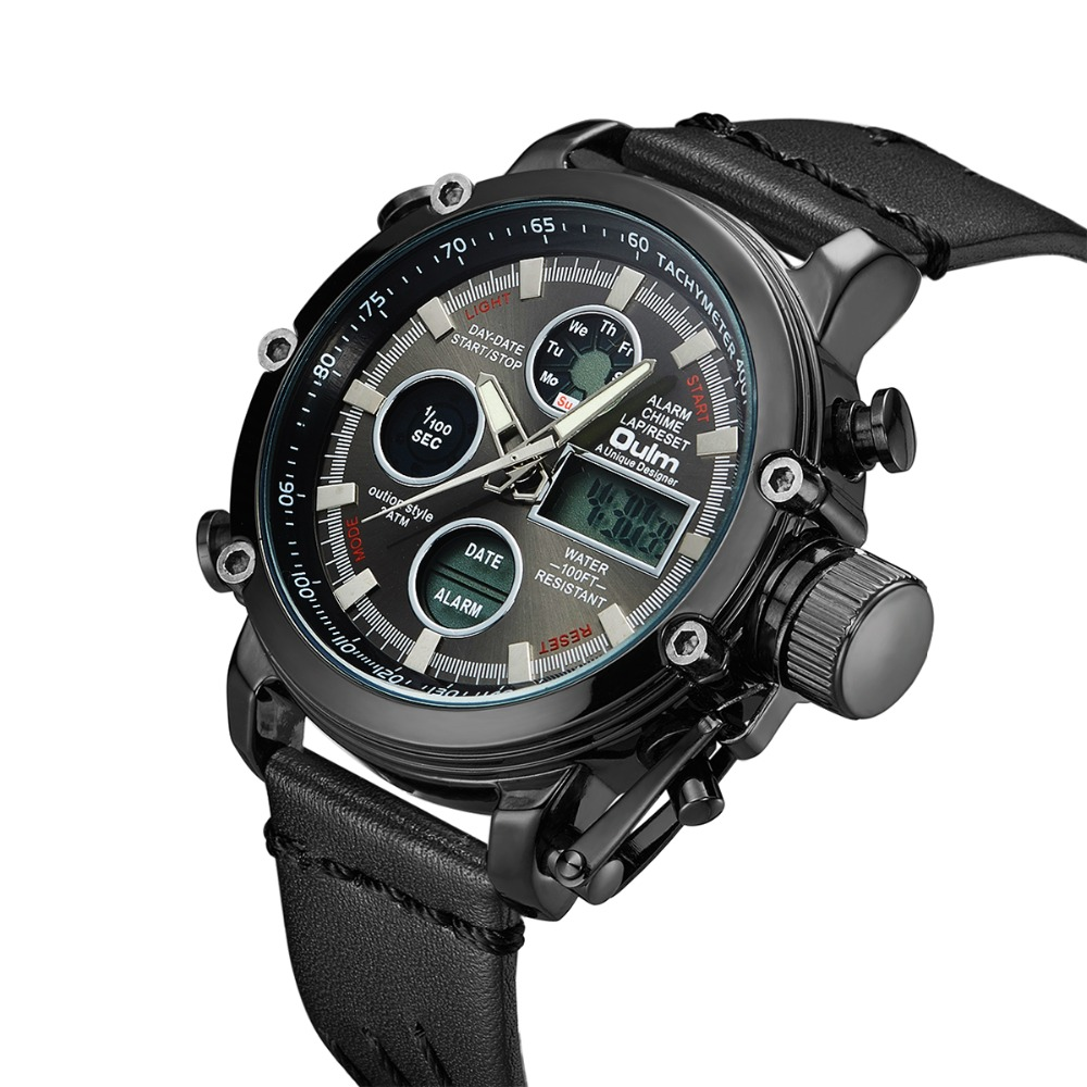 Aliexpress.com  Comprar Oulm marca de lujo superior Relojes hombres ... 22aba0656a3d