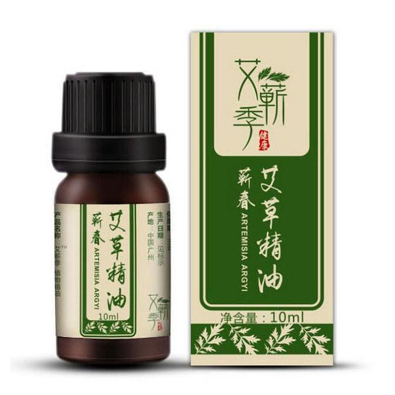 10ML Artemisia Essential Oil Relieves Tiredness Headaches Body Wraps Weight Loss Slimming Creams Anti Cellulite Fat Burning Gel