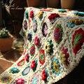 Детское одеяло «сделай сам»  разноцветные коврики с ромашками  скатерть ручной работы  модный шарф  ковер для свадебной настольная дорожка