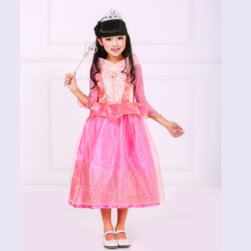 halloween costumes for kids girls party gowns designs long sleeve ...