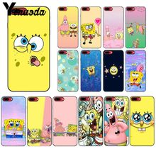 Yinuoda Spongebob squarepants friendship Novelty Phone Case Cover for iPhone 8 7 6 6S Plus 5 5S SE XR X XS MAX Coque Shell