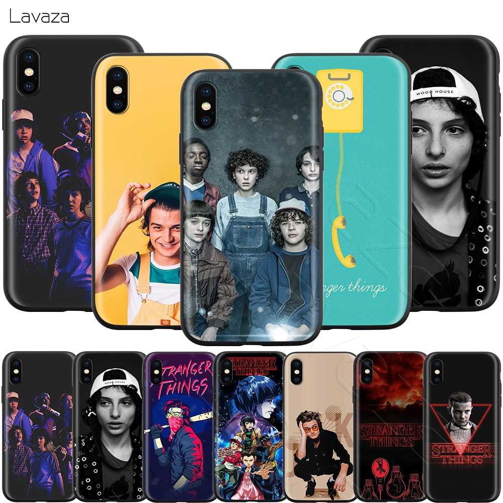 Чехол Lavaza tv Stranger Things для iPhone XS Max XR X 8 7 6 6 S Plus 5 5S se