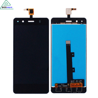 LCD Display Touch Screen Digitizer Assembly For BQ Aquaris A4 5 100 Guarantee Black Color Mobile