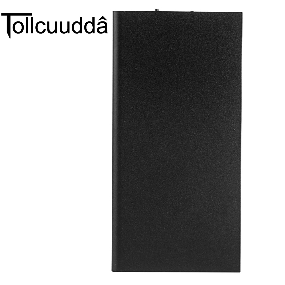 imágenes para Tollcuud Poverbank Powerbank Portátil Para Xiaomi Iphone Power Bank Cargador de Batería Recargable Del Teléfono Móvil 10000 mah 2 USB