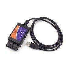 Xe Hơi Tự Động Chẩn Đoán Giao Diện Máy Quét OBD2 ELM327 V1.5 USB Máy Quét Xe Dò Công Cụ Chẩn Đoán
