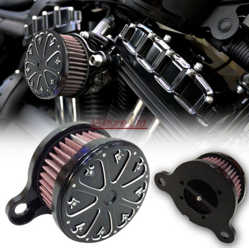 ФОТО Air Cleaner Intake Filter System  2004-2014 for Harley Sportster XL 883 1200