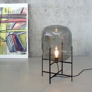 Image 5 - Post modern Nordic simplicity Floor Lamps LED lights vloerlamp stand lamp standing lamp Living room Bedroom Restaurant