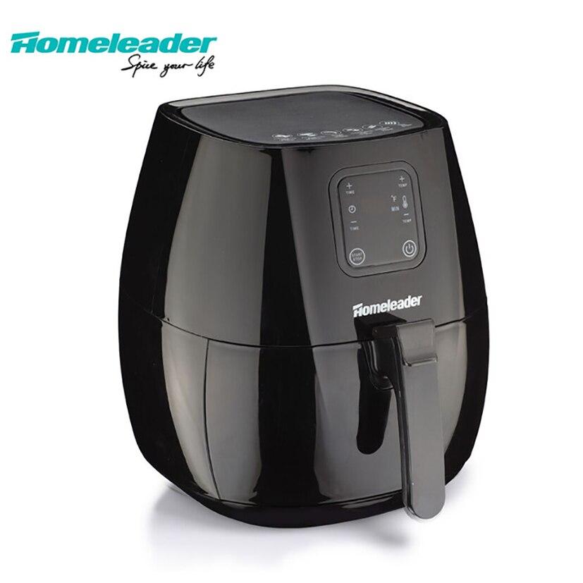 Homeleader Электрический Воздушный Фрайер Oil Free фритюрница ЖК-дисплей Дисплей Кухня Приспособления Air машины без масла с большой Ёмкость