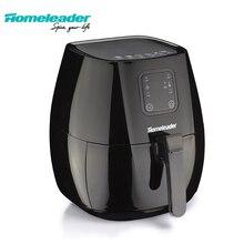 Homeleader электрическая воздушная фритюрница без масла фритюрница ЖК-дисплей кухонная техника воздушная машина без масла с большой емкостью