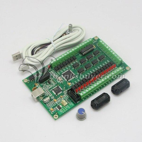 4 Axis CNC USB Card Mach3 200KHz Breakout Board Interface