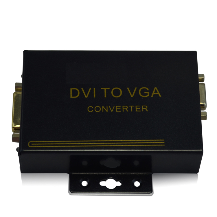 HighTeHK-DTV DVI To VGA Converter With 1280x1024 PC Out or 1920x1080 HDTV Output digital to analog de dietrich dtv 1124 x