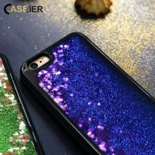 CASEIER Glitter Quicksand Case For iPhone 6 7 8 Plus X Soft TPU Edge Phone Cases 6S Girly Accessories