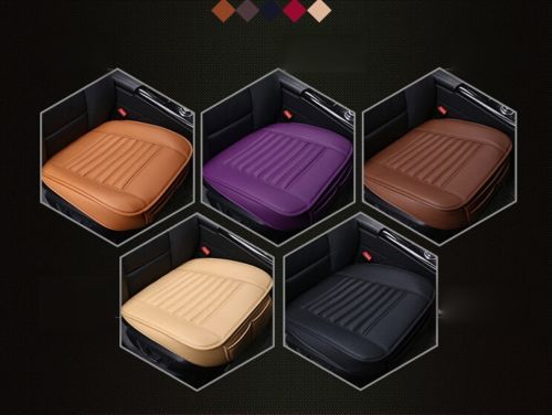 Leather Car Seats Protect Mat Cover Car Seat Cover Pad Breathable Cushion Summer Cool Car Seat Cushion Truck Auto Chair Cover