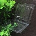 50 unids 26mm/36mm Caja De Plástico Vacía, Empaquetado de la Cubierta De Sombra de Ojos Maquillaje DIY, blanco Caja de Embalaje de Cosméticos