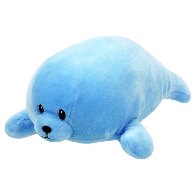 Baby Ty Collection Squirt Blue Seal 6 Quot 15cm Plush Stuffed