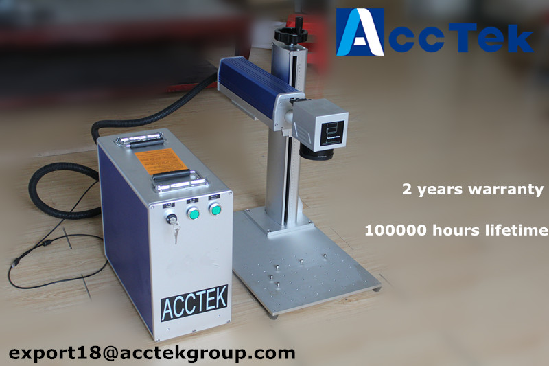 Máquina de marcado láser de fibra metálica Máquinas de impresión láser para zapatos impresora láser para bolsa de plástico