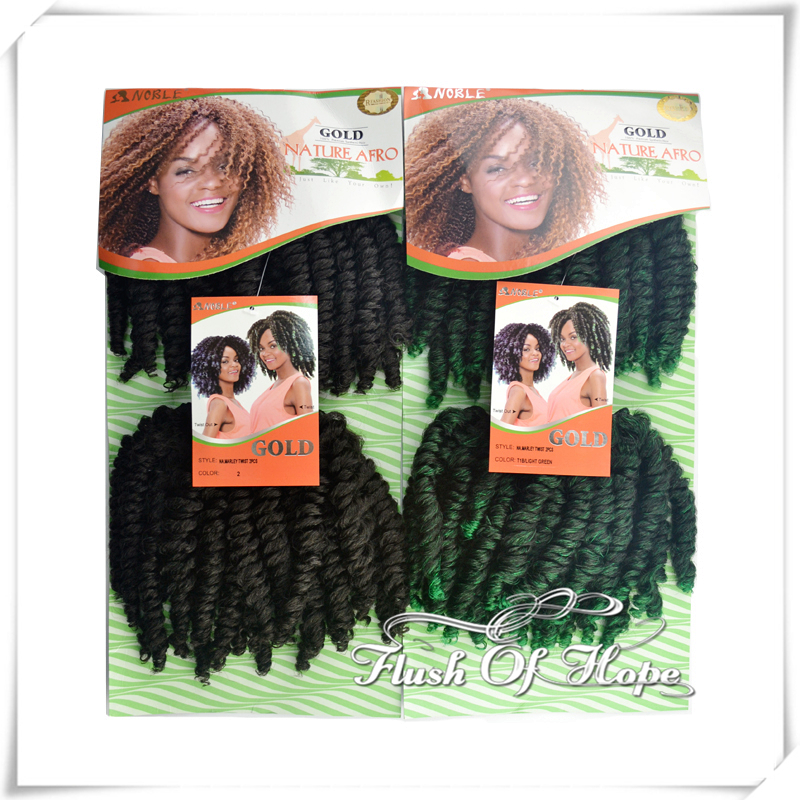 Noble gold natural afro marley twist braid hair weaving ombre noble gold natural afro marley twist braid hair weaving ombre curly synthetic hair extensions 6 packslot color 2 t1bgreen on aliexpress alibaba pmusecretfo Choice Image