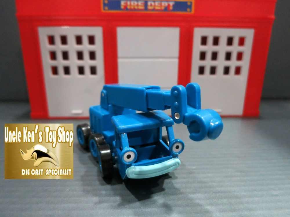 Bob the builder, boys toys, 다이 캐스트 모델 lofty 생일 선물로 어린이를위한 자동차를 따라 가져 가라.