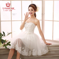 White Homecoming dresses 2016 Vestido De Festa Curto with Sequines and Sashes Short Homecoming Dress with Lace Applique 4colors