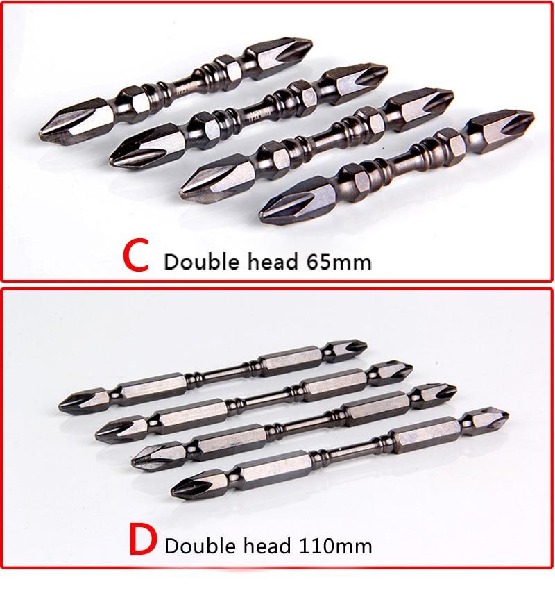 Wysokiej jakości 2 szt. 65/110 mm Elektryczne wkrętaki magnetyczne - Narzędzia ręczne - Zdjęcie 3