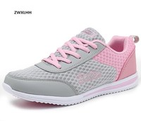 2017 Spring And Autumn Zapato Women Breathable Mesh Zapatillas Shoes For Women Network Soft Casual Shoes