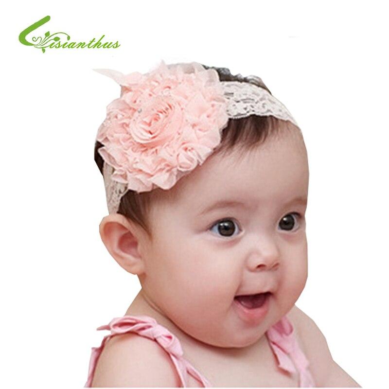 Cute Baby Girls Toddler Kids  Rope Flower Hair Band Beach Headband Headwear
