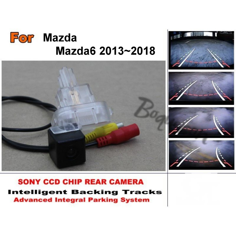 Directive Parking Tracks Camera  For Mazda 6 Mazda6 2013~2018 Rear View Back Up Camera High Quality  Car Electronic Accessory-in Vehicle Camera from Automobiles & Motorcycles    1