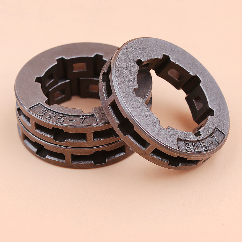 3Pcs .325 7T Small Chain Drive Sprocket Rim For Partner 365 400 405 410 450 460 490 510 540 P 400 500 510 Chainsaw Oregon 11892