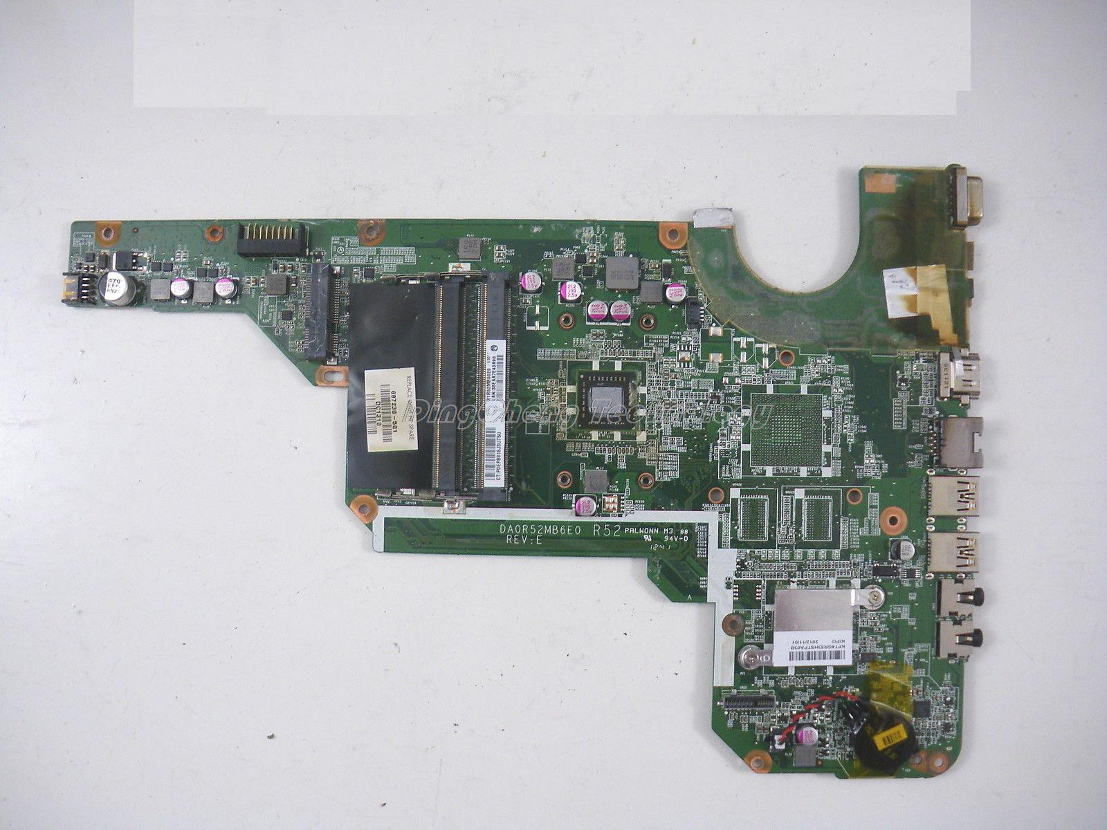SHELI laptop Motherboard For hp CQ58 697230-001 DA0R52MB6E0 for AMD cpu with integrated graphics card