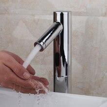 Современная Автоматическая Чувство Кран для Кухни ванной бассейна экономии воды, электрический датчик Воды смесителя
