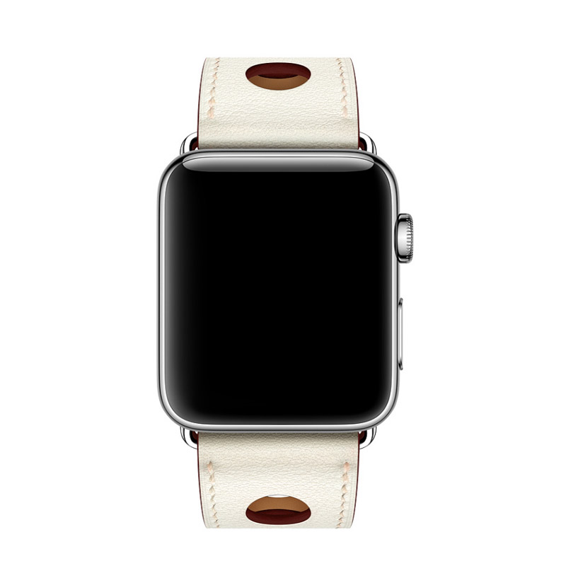 apple series 1 2 3 Leather Strap (4)