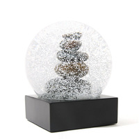 Crystal Ball with Base Decoration Crafts Home Decor Figurines Miniatures Birthday Gift F