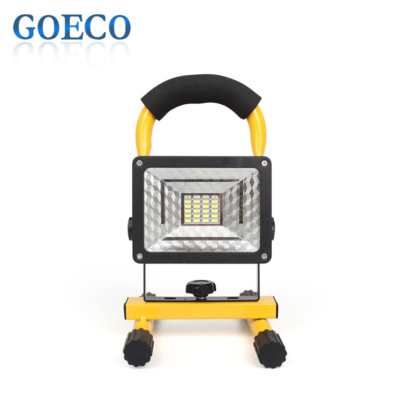 ФОТО Portable Led Floodlight IP65 3 Modes Floodlight 30W CREE XML-L2 Rechargeable LED Work Emergency Light Lamp for Camping/Fishing