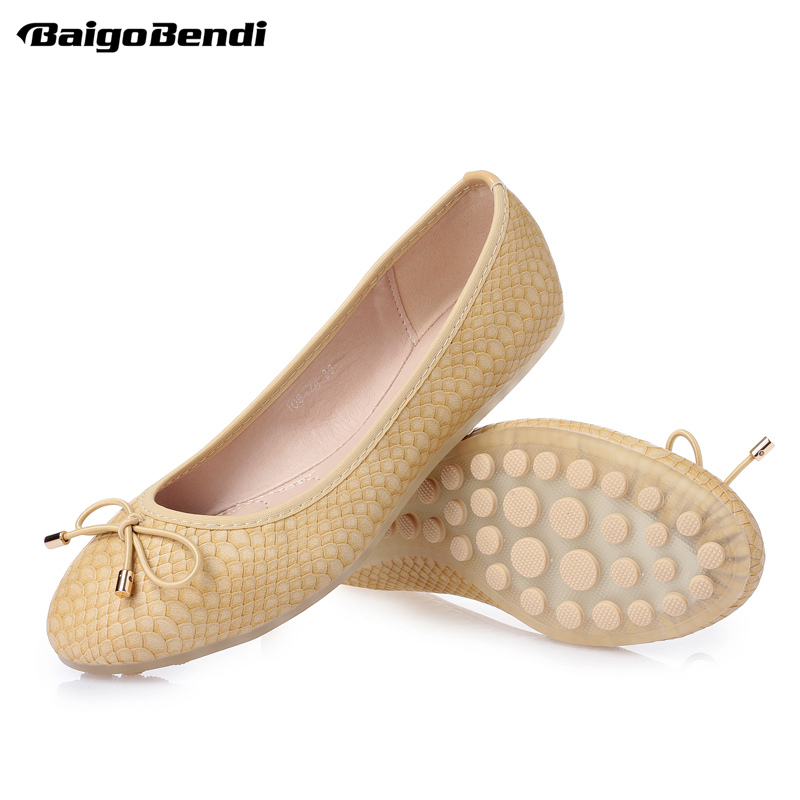 Summer Candy Colorful Light Weight Soft Woman Flats SLIP-ON Loafer Ladies Driving Car Shoes Bowknot Ballerina