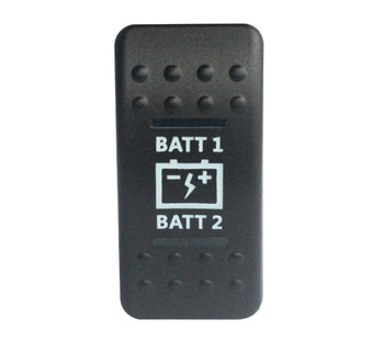 Батарея 7 pin ВКЛ/ВЫКЛ/вкл DPDT рокер переключатель синий светодиод 12 В 24 В для NARVA ARB стиль карлинга Замена морского класса