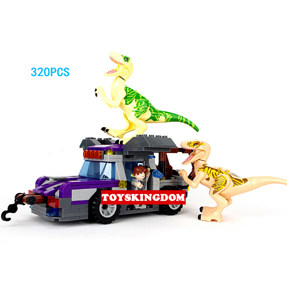 Hot movie Jurassic World Dinosaur Park Velociraptor Siege building block doll figures jeep cars bricks toys for boys gifts hot city series aviation private aircraft lepins building block crew passenger figures airplane cars bricks toys for kids gifts