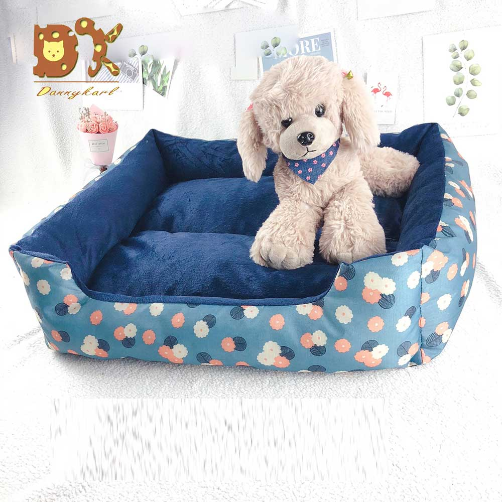 New Dog Bed Mattress Waterproof and Plush Beds Sofas Pet Litter Can be Removed and Washed By Small and Medium sized Dogs 2019 in Houses Kennels Pens from Home Garden