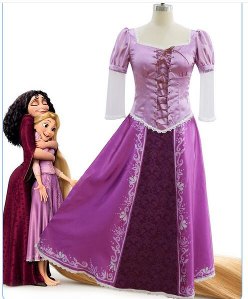 adult rapunzel costume tangled adult rapunzel fancy dress womens cosplay tangled rapunzel princess costume for women purple ...