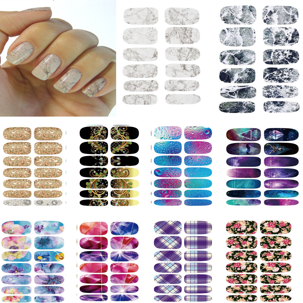10pcs Manicure set Water Transfer stickers for nails Light Gray White Marble Stone Rock Wraps Full Cover nail art decorations 2pcs new water transfer light gray white marble stone rock nail wraps sticker manicure decals nail foil sticker art sexy